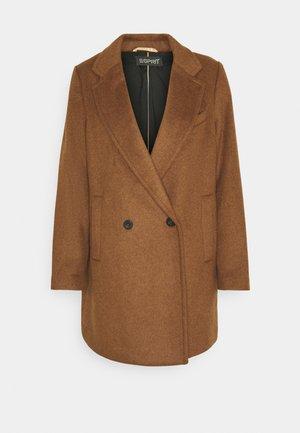 Classic coat - rust brown