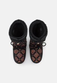 River Island - KIM QUILTED  - Winter boots - black - 5
