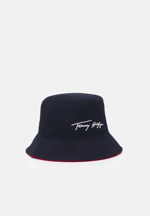 TH SIGNATURE BUCKET HAT UNISEX - Klobouk - blue