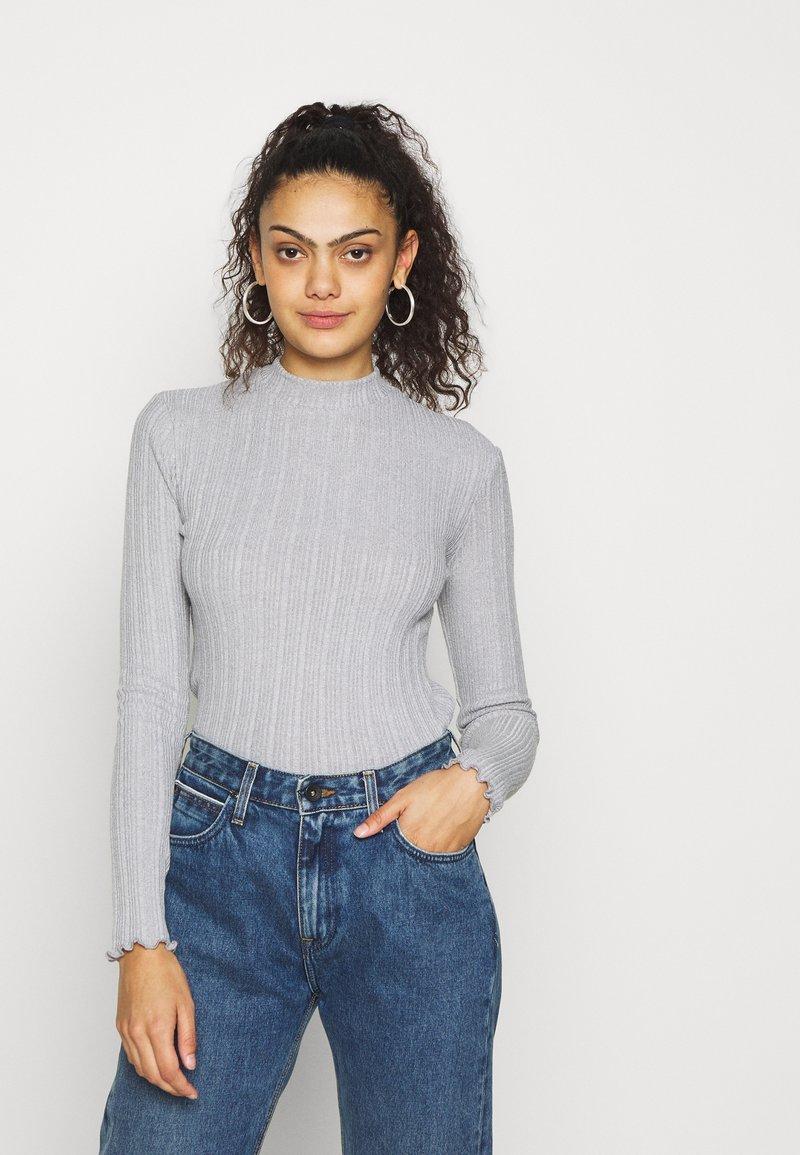Hollister Co. - T-shirt à manches longues - grey