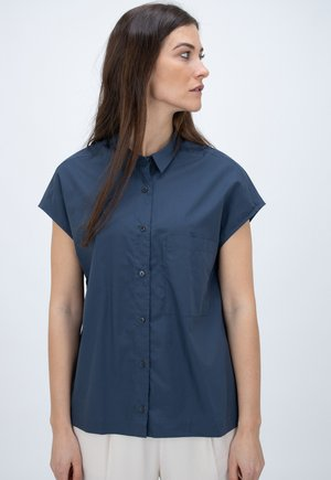 RACHEL - Button-down blouse - blue
