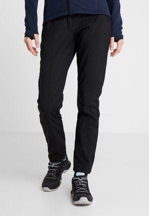 WOMAN LONG PANT - Outdoor trousers - nero