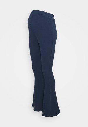 LADIES FLARES - Pantalones - navy