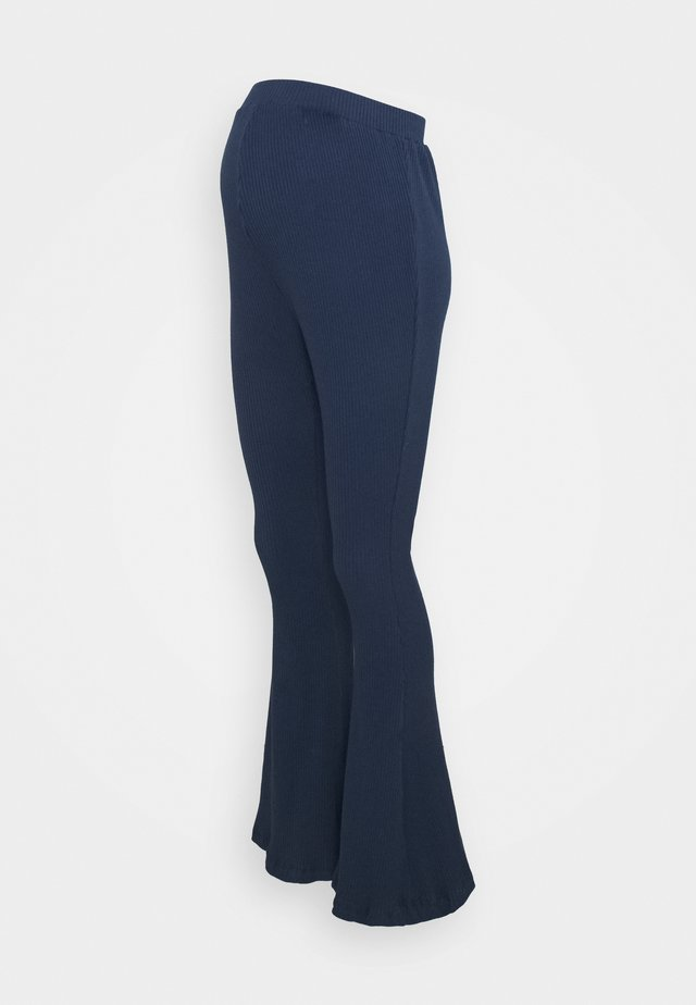 LADIES FLARES - Broek - navy