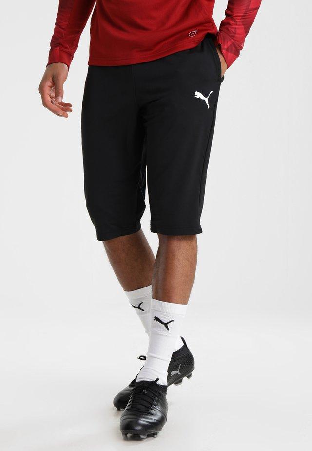 LIGA  - 3/4 sports trousers - black/white