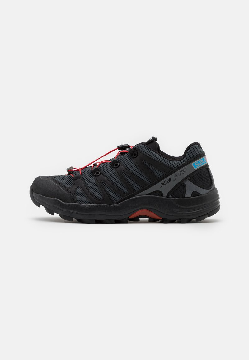 Salomon - XA PRO 1 UNISEX - Tenisky - black/magnet/racing red