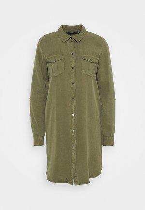 VMSILLA SHORT DRESS  - Skjortekjole - ivy green