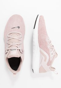 Nike Performance - FLEX TRAINER 9 - Obuwie treningowe - stone mauve/black/barely rose/metallic red bronze/metallic silver/white - 1