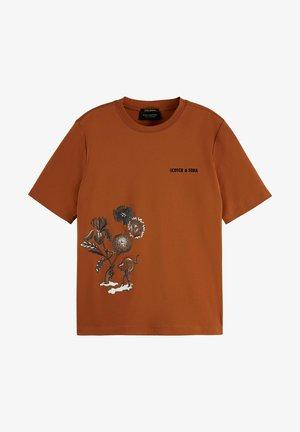 T-shirt imprimé - copper