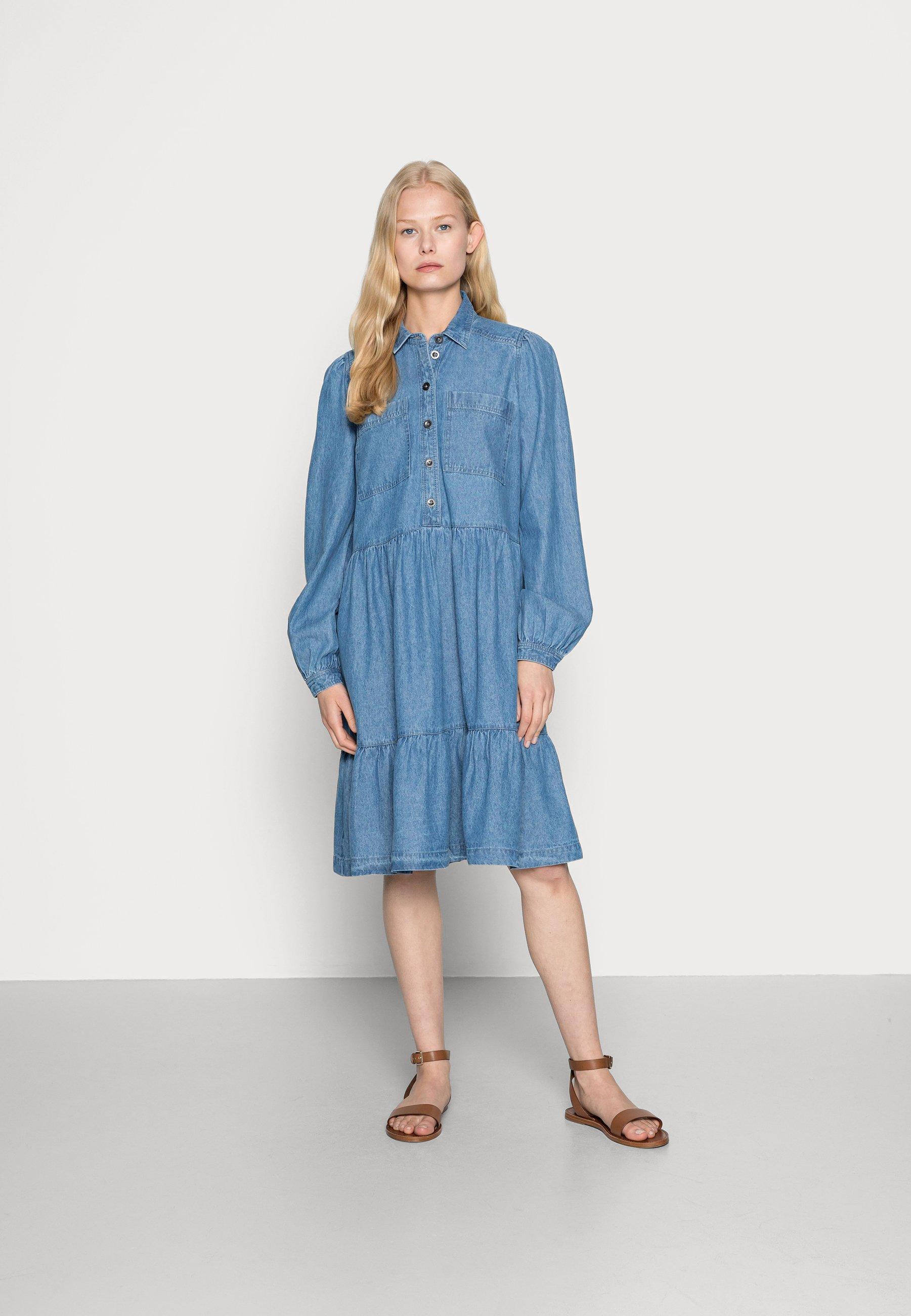 Damer DRESS - Jeanskjole / cowboykjoler
