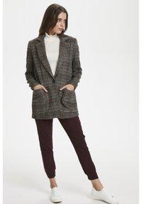 Soaked in Luxury - JILLIAN - Short coat - black/brown/cream - 1