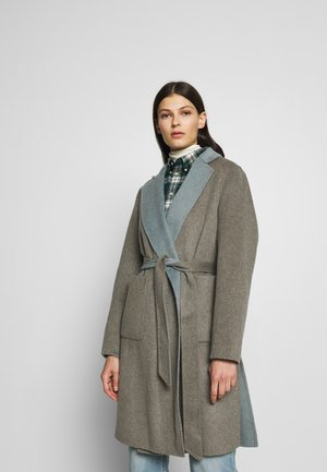 Classic coat - grey/blue
