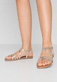 Head over Heels by Dune - LIYA - Sandals - gold - 0