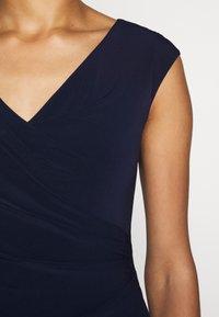 Lauren Ralph Lauren - MID WEIGHT DRESS - Shift dress - lighthouse navy - 7