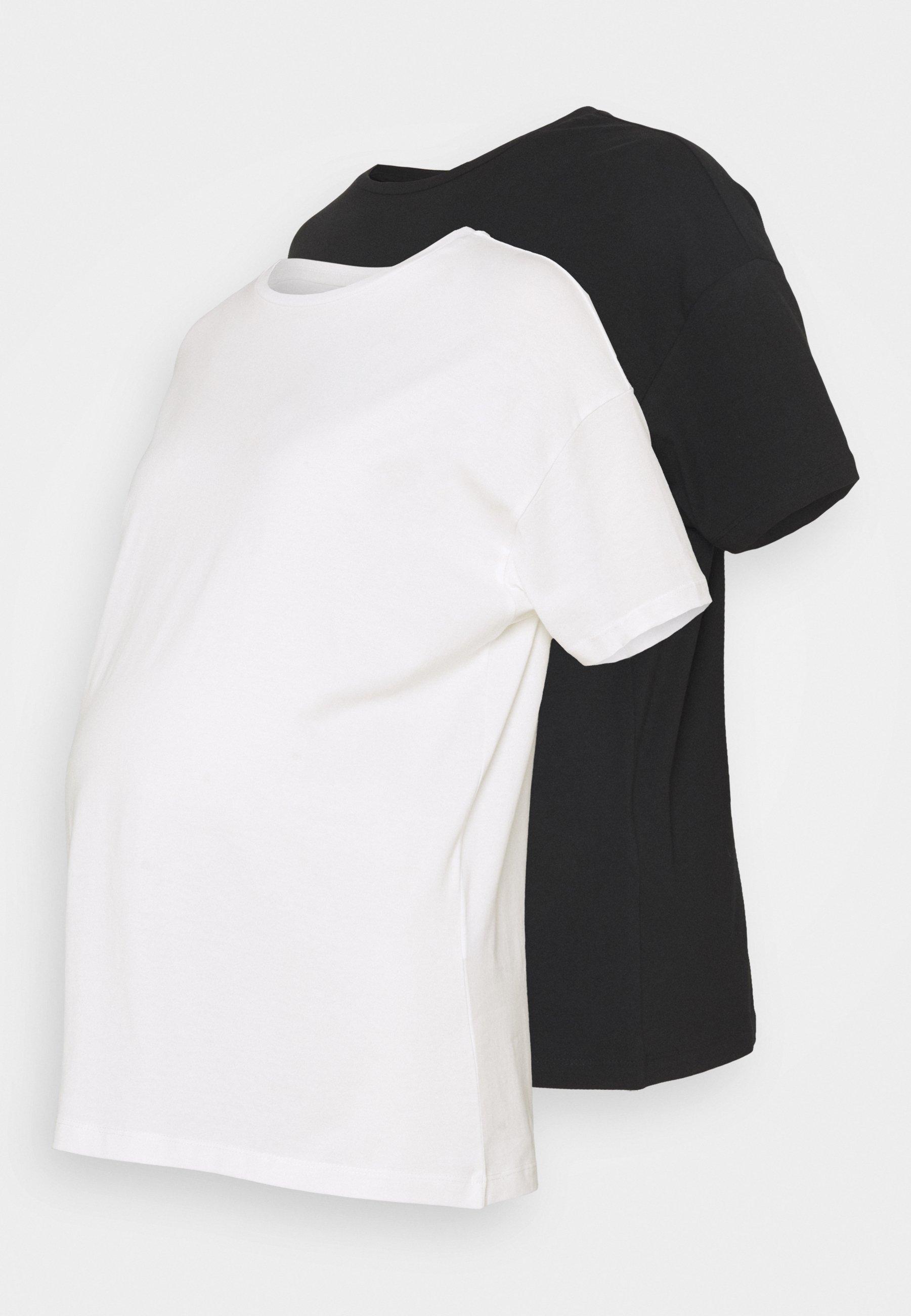 Damen MLMARYANN 2 PACK  - T-Shirt basic