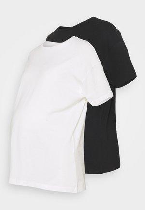 MLMARYANN 2 PACK  - Basic T-shirt - snow white