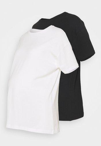 MLMARYANN 2 PACK  - T-shirt basic - snow white