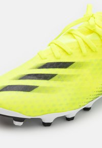 adidas Performance - X GHOSTED.3 MG - Kopačky lisovky - solar yellow/core black/royal blue - 5