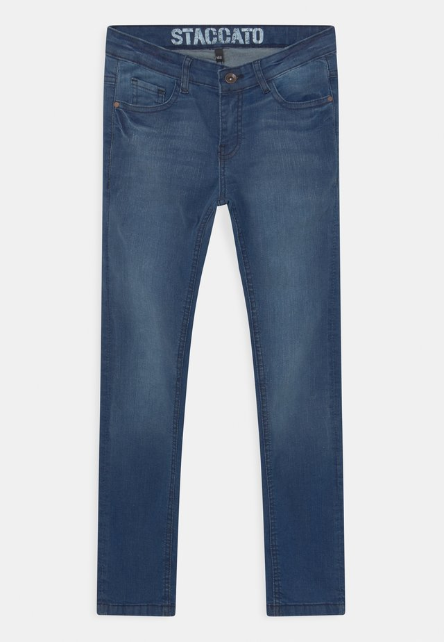 Jeans slim fit - mid blue denim