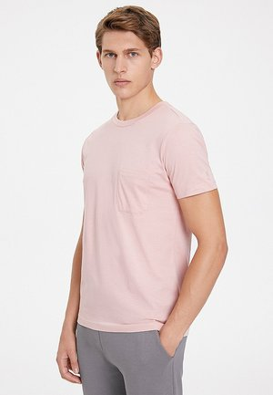 T-shirt basique - misty rose