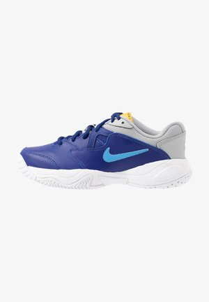 COURT JR LITE 2 UNISEX - Scarpe da tennis per tutte le superfici - deep royal blue/coast/light smoke grey
