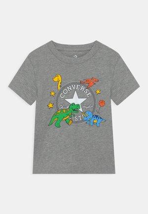 DINO TEE - T-shirt print - dark grey heather