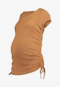 Cotton On - SIDE TIE SHORT SLEEVE - Camiseta estampada - lion - 4