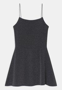 New Look 915 Generation - SPARKLE SPAGHETTI STRAP  - Vestito di maglina - grey/charcoal - 0