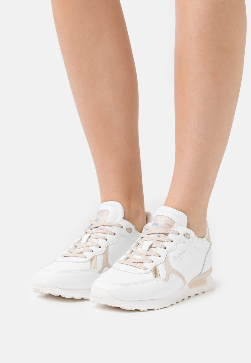Pepe Jeans - BRITT BASS WOMEN - Trainers - white