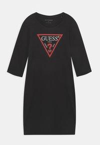 Guess - JUNIOR DRESS CORE - Jersey dress - jet black - 0