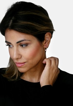 MIT PERLE - Earrings - rose gold-coloured