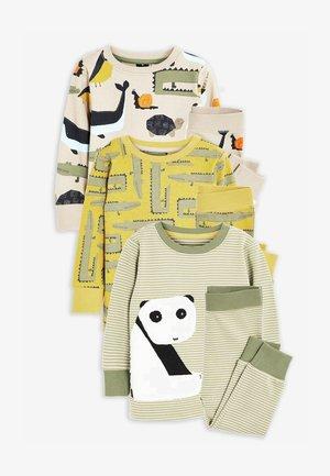 3 PACK - Pyjama set - green