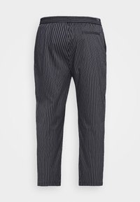 Topman - STRIPE WHYATT - Trousers - dark blue/white - 6