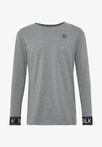 SIKSILK - LOUNGE TEE - Top sdlouhým rukávem - grey - 3