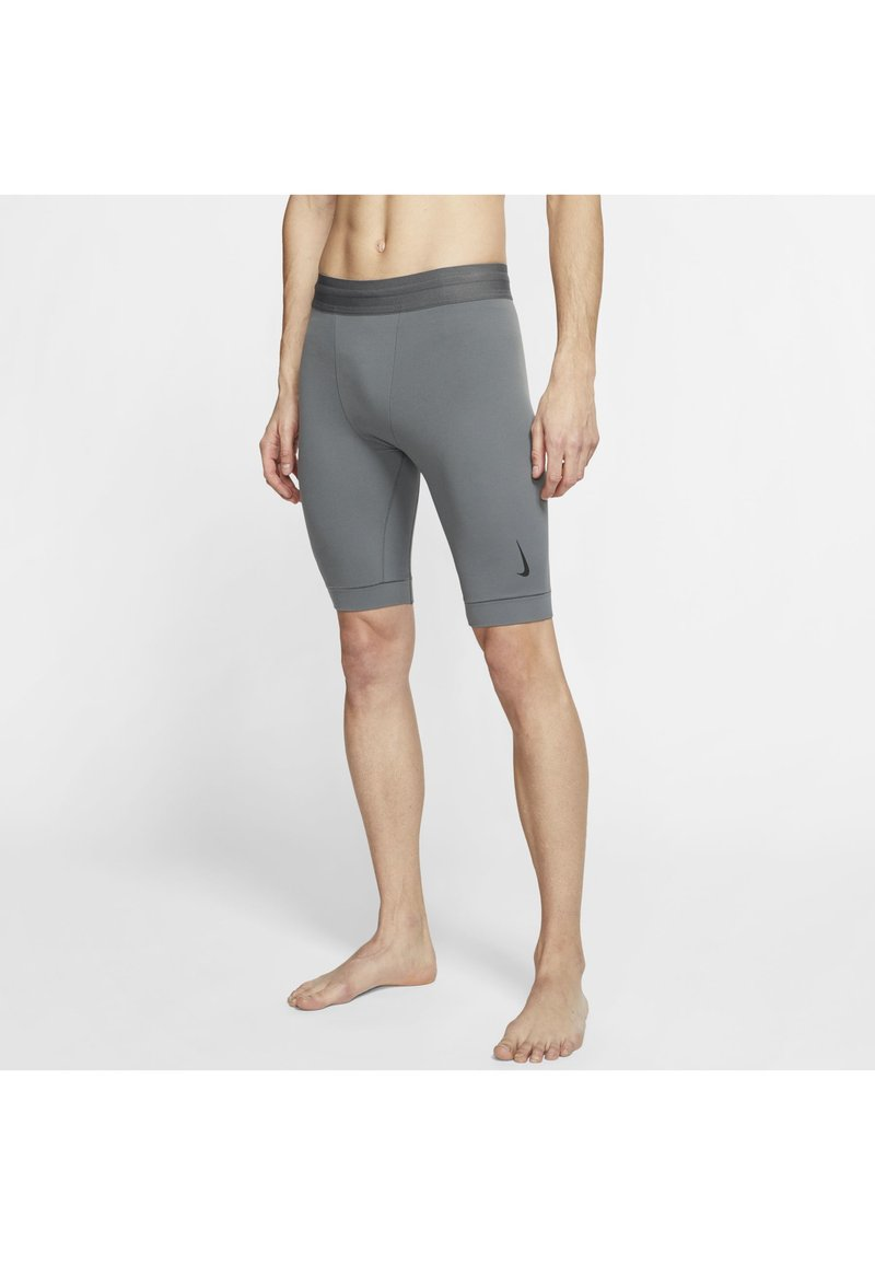 Nike Performance - DRY YOGA - Leggings - iron grey/black