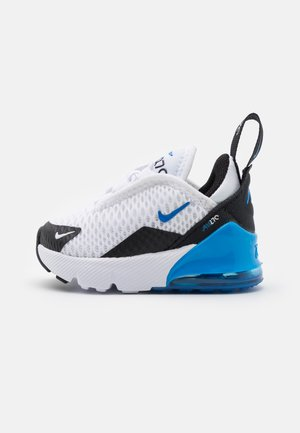 AIR MAX 270 UNISEX - Sneaker low - white/signal blue/black