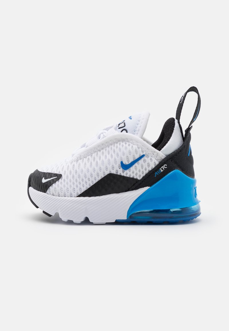 Nike Sportswear - AIR MAX 270 UNISEX - Trainers - white/signal blue/black