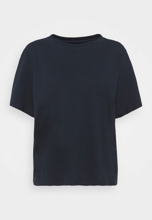 VINTAGE TEE - Print T-shirt - midnight