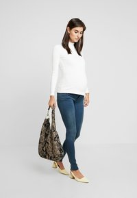 MAMALICIOUS - MLTORONTO  - Slim fit jeans - dark blue denim - 1