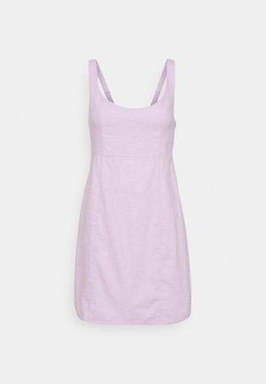 LIBBY STRAPPY MINI DRESS - Shift dress - lilac blossom