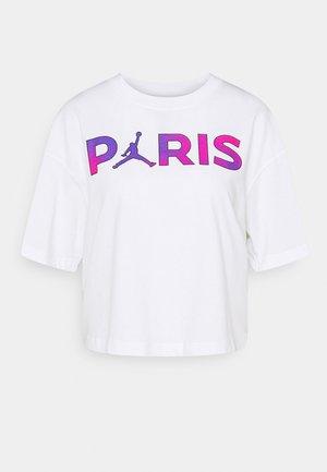 JORDAN PARIS ST GERMAIN TEE  - Club wear - white