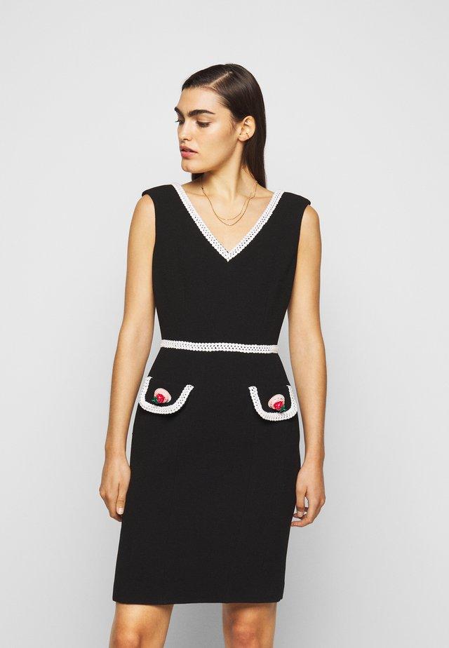 DRESS - Vapaa-ajan mekko - black