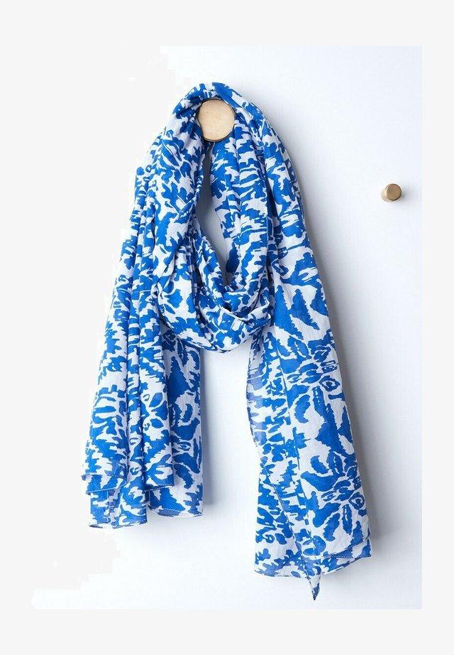 Sjaal - bleu