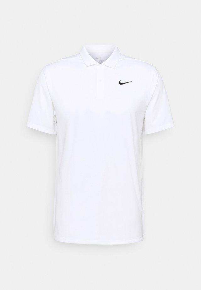 ESSENTIAL SOLID - T-shirt de sport - white/black