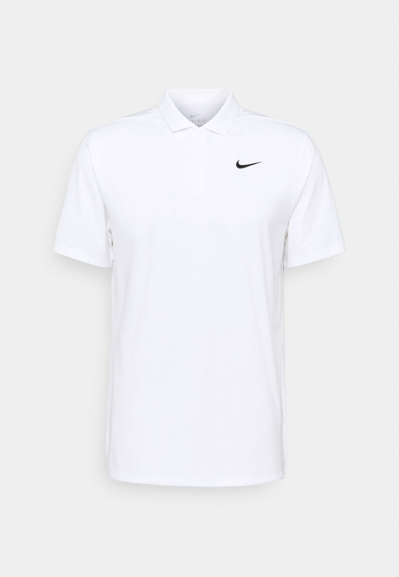 Nike Golf - ESSENTIAL SOLID - T-shirt de sport - white/black