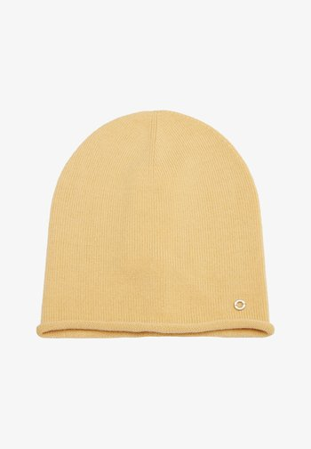 FEINE AUS - Beanie - light yellow