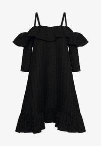 FLOSS DRESS - Vestito estivo - black