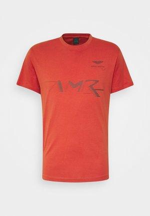 LOGO TEE - T-shirt imprimé - burnt orange