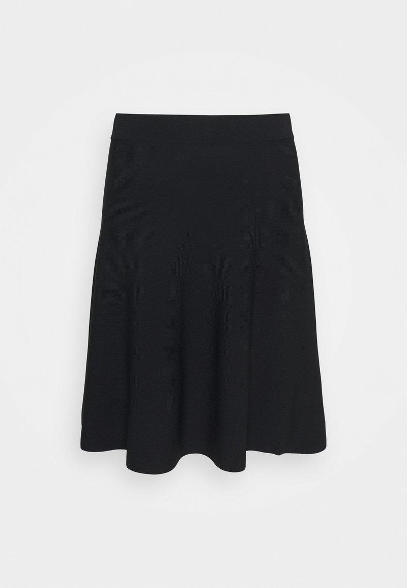 Nümph - NULLYPILLY SKIRT - A-line skirt - caviar