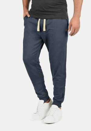 REGULAR FIT - Tracksuit bottoms - navy